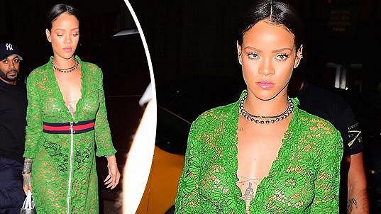Rihanna vsadila na krajku.