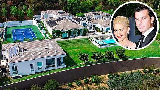 Exmanželé Gwen Stefani a Gavin Rossdale se zbavují společného majetku...