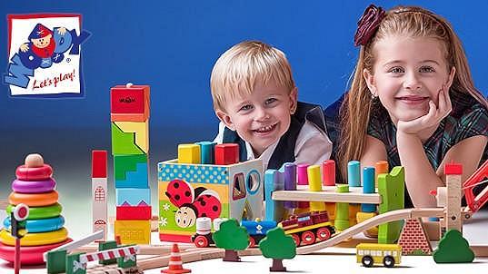 Woody hračky jsou vhodné pro kluky i holky