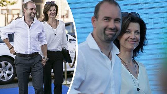 Sympatický pár po delší pauze ve společnosti