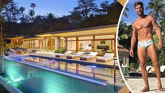 Na Rickyho Martina i jeho nový dům je luxusní pohled...