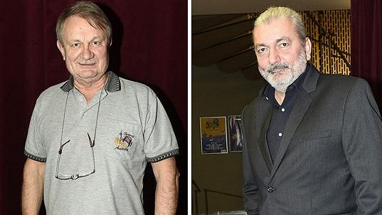 Daniel Hůlka a Jiří Adamec si jdou po krku.