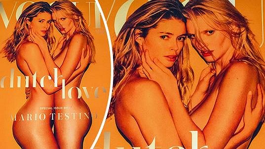 Titulka speciálního vydání magazínu Vogue