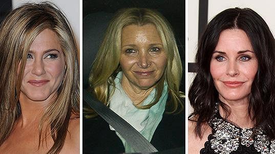 Jennifer Aniston, Lisa Kudrow a Courtney Cox