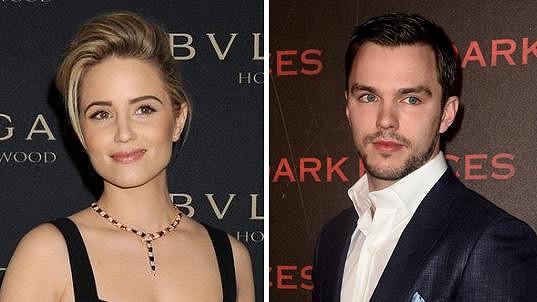 Nicholas a Dianna tvoří nový hollywoodský pár.