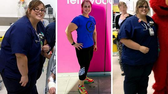 Vanessa zhubla 70 kilogramů.