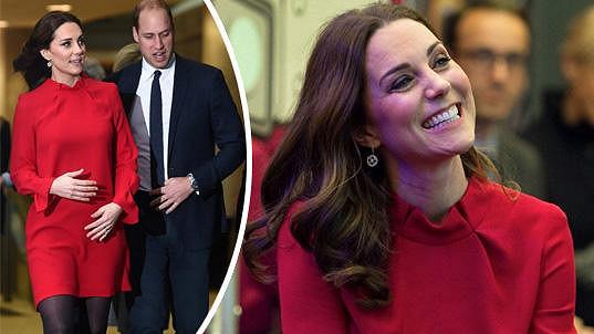 Kate a William spolu navštívili summit dětí.