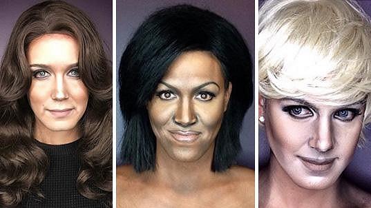 Filipínec po proměně v Kate, Michelle i Dianu...