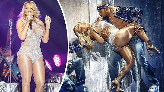 Mariah Carey si myslí, že je lehká jako vánek...