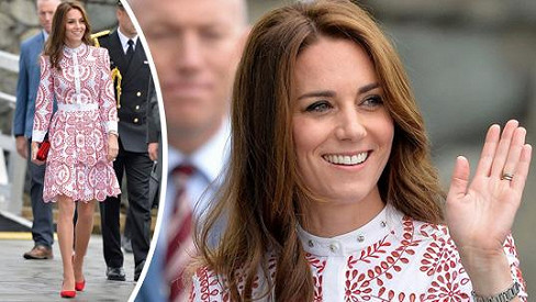 Vévodkyně Kate zazářila ve Vancouveru.