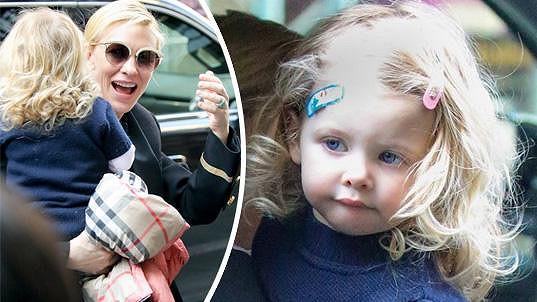 Cate Blanchett s dcerkou Edith