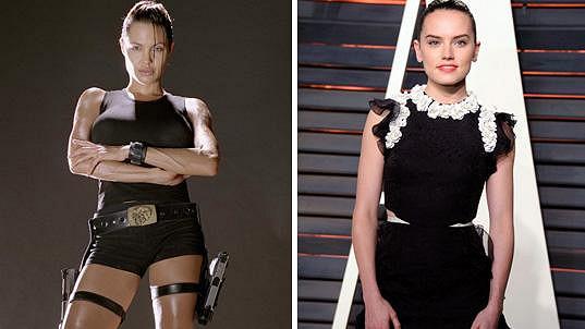 Daisy Ridley je nástupkyní Angeliny Jolie.