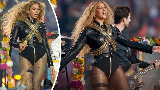 Beyoncé se předvedla jako sexy dračice.