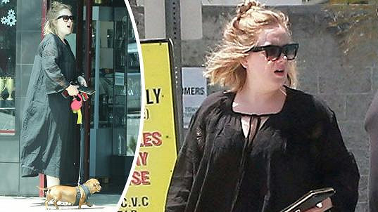 Adele oblečení nikdy příliš neřešila.