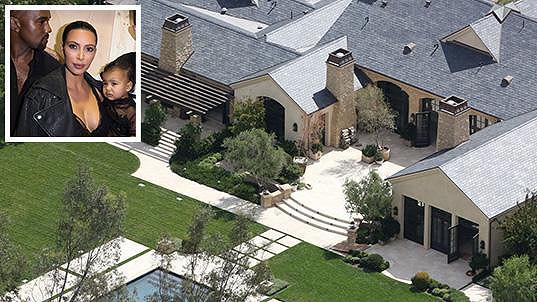 Domov slavné americké rodiny v Kalifornii