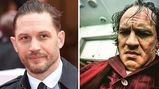 Tom Hardy je v nové roli k nepoznání.