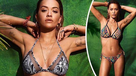 Rita Ora předvedla své sexy křivky.