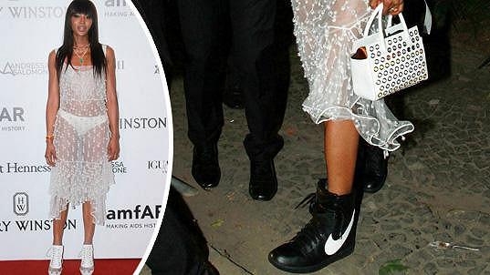 Naomi Campbell v Brazílii