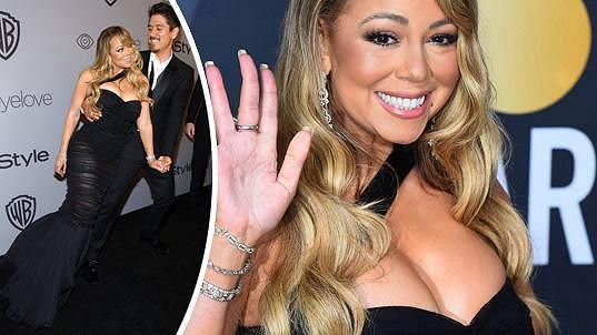 Mariah Carey neuspěla, přesto byla v dobré náladě.