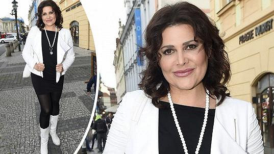 Ilona Csáková přiznává, že hubnutí je dřina.