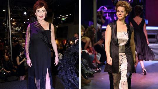 Ilona Svobodová a Anna Fixová se znají ze seriálu Ulice.