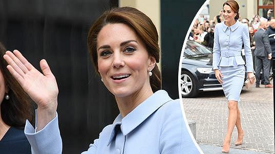 Vévodkyně z Cambridge v Nizozemí