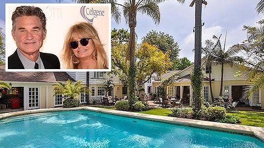 Goldie s Kurtem prodali toto sympatické sídlo v Kalifornii...