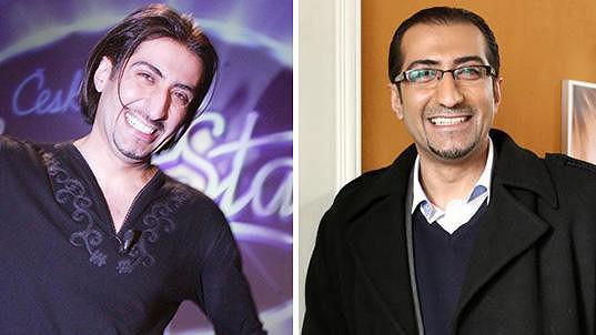 Ali Amiri se od SuperStar (vlevo) moc nezměnil.