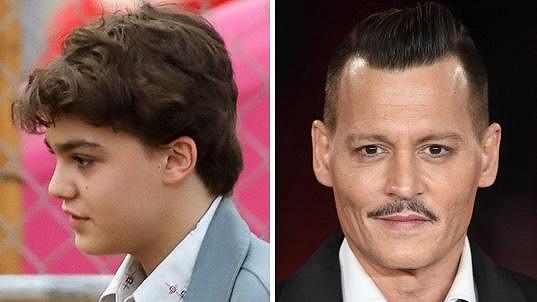 Deppův syn je na tom zdravotně špatně.