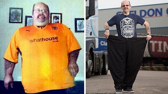 Sean zhubl 132 kilogramů.