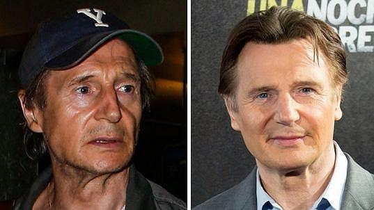 Liam Neeson za pouhé tři měsíce výrazně zestárl.