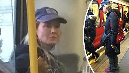 Identitu této cestující byste nepoznali...