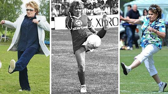 Jiřina Bohdalová miluje fotbal.