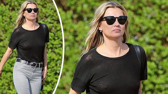 Kate Moss si vyrazila polehku...