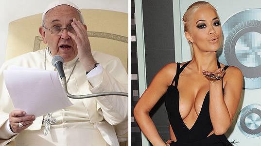Rita musí dobře zvážit, v čem se před Františkem předvede...
