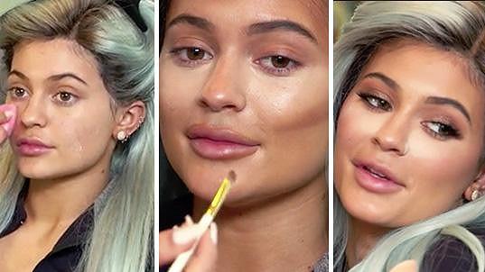 Kylie Jenner a její proměna...