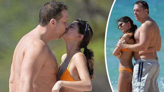 Dane Cook a Kelsi Taylor na Havaji