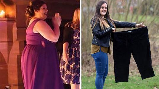 Rachel Finch zhubla 40 kilogramů.