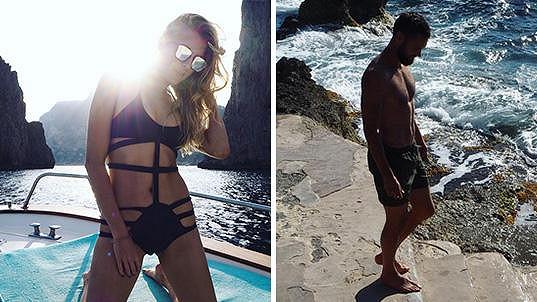 Jitka Nováčková si užívá na Capri s přítelem, který je fotbalista.