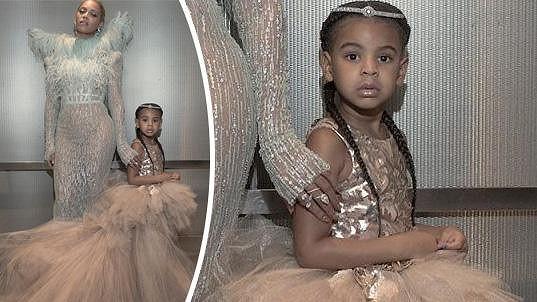Beyoncé se o slávu podělila se svou dcerkou...