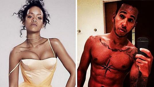 Rihanna má tvořit pár s Lewisem Hamiltonem.