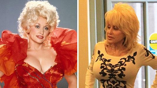 Dolly stárne, ale její prsa se nemění.