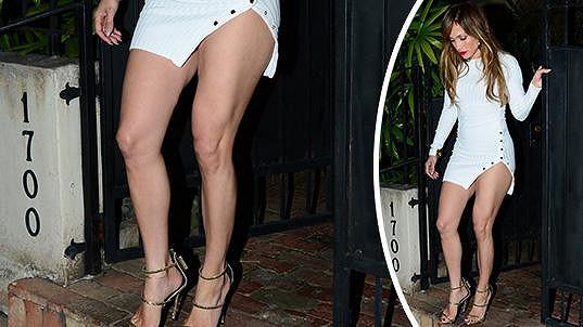 Jennifer Lopez a její šatičky na rande...