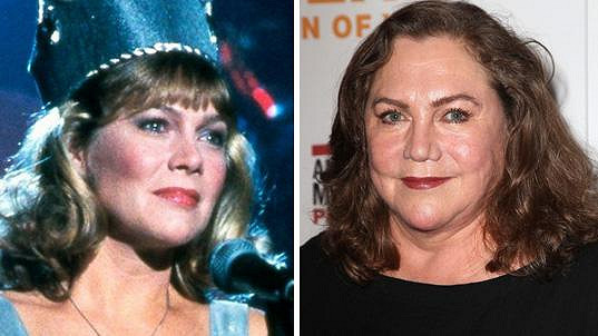 Kathleen Turner v roce 1986 a dnes