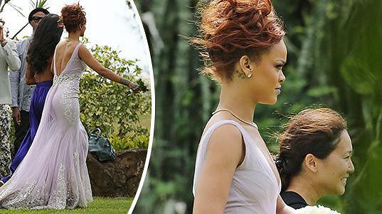 Rihanna za družičku