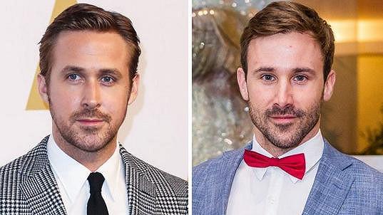 Ryan Gosling a Marek Fašiang vypadají jako dvojčata.
