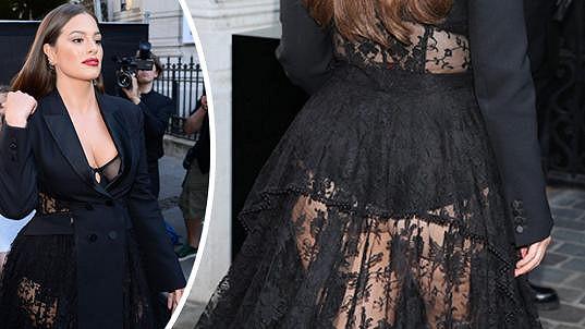 Ashley Graham se v Paříži odvázala.