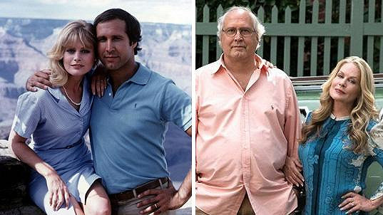 Chevy Chase a Beverly D´Angelo po 32 letech