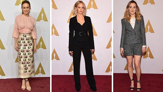 Hlavní ženskou hereckou kategorii letos ovládly mladé tváře.
