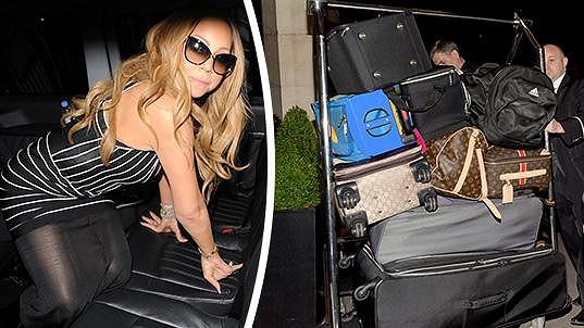 Mariah Carey a její bagáž...
